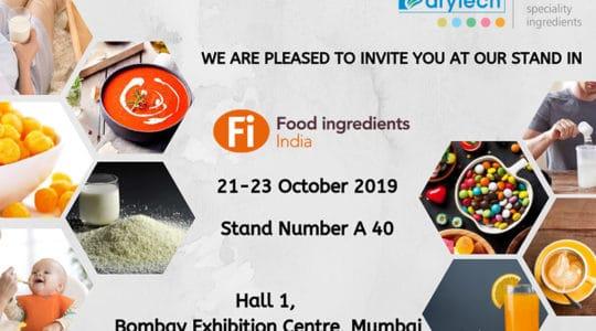 FI-India Invitation by drytech india